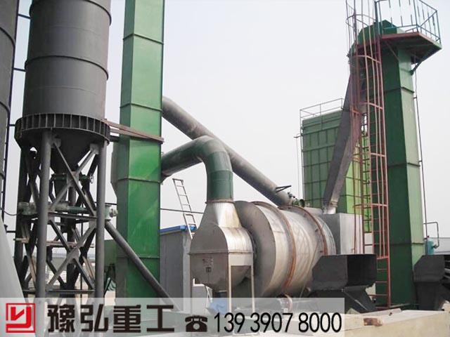 回转滚筒干燥机蒸汽热源