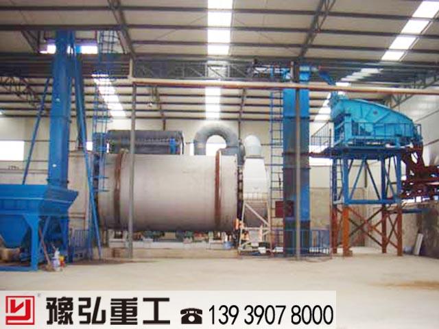 高性能滚筒烘干机生产线