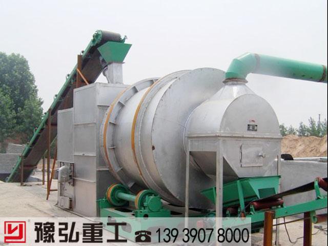 转筒烘干机是物料的烘干设置
