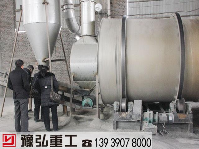 豫弘重工分享新装转筒烘干机安装方法